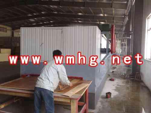 木材单板烘干机