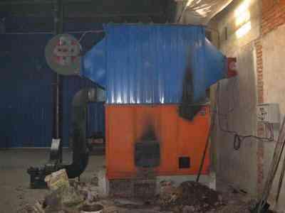 节能供暖热风炉