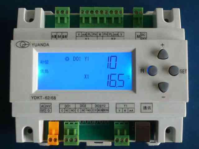 智能温控仪配合执行器控制烘箱温度