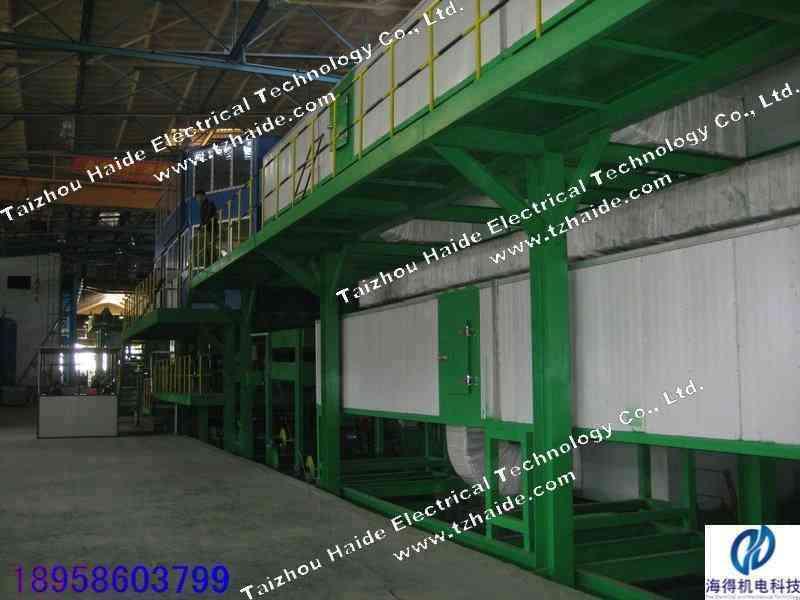 彩涂钢板生产线